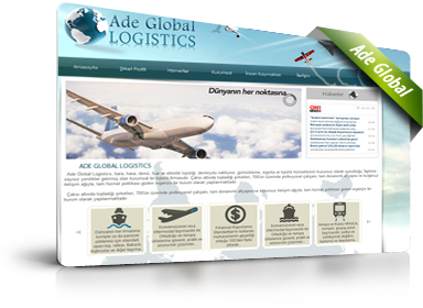 Ade Global Logistics - Web Tasarım